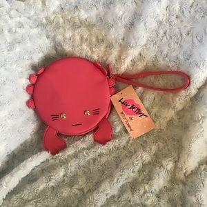 Betsey Johnson crab 🦀 purse.